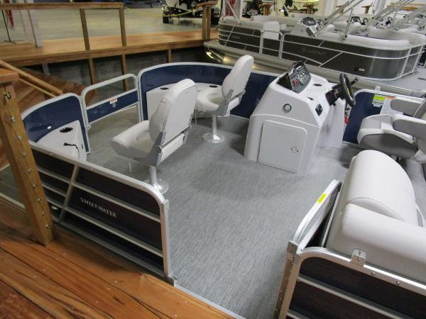 2021 Godfrey Pontoon boat for sale, model of the boat is SW 2086 FX & Image # 25 of 36