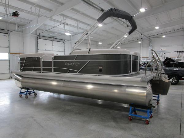 2021 Godfrey Pontoon boat for sale, model of the boat is SW 2286 SBX Sport Tube 27 in. & Image # 14 of 38