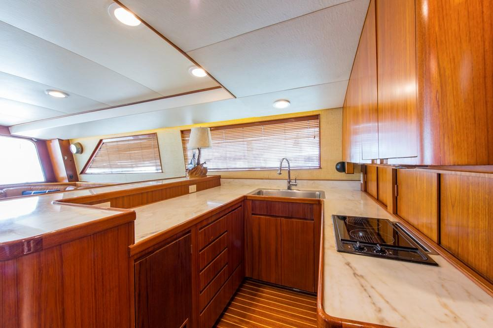 1996 60' Jim Smith Custom Sportfisherman Galley