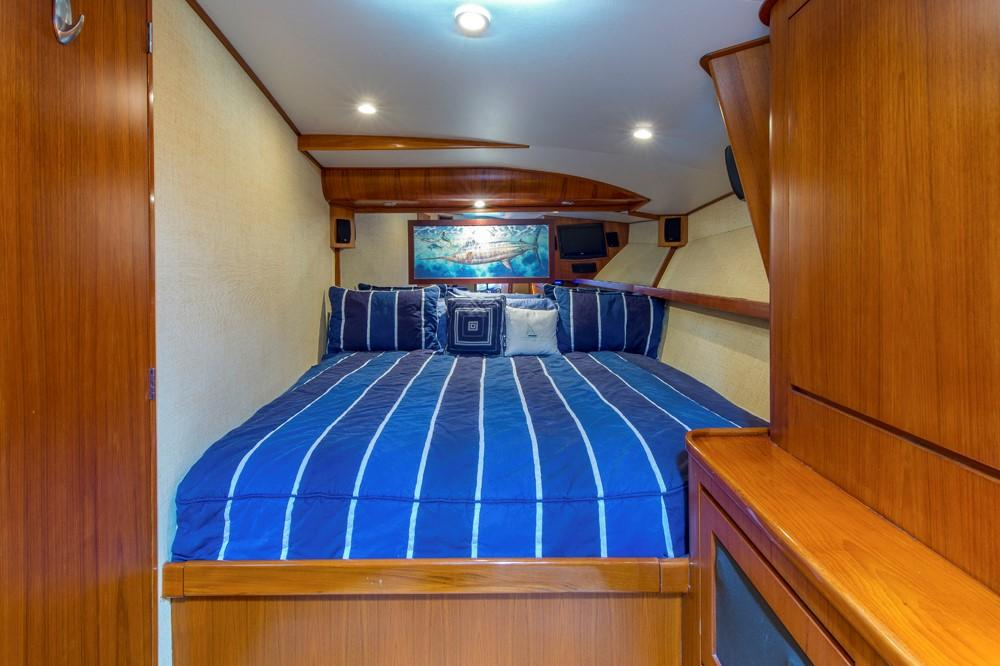1996 60' Jim Smith Custom Sportfisherman Master Stateroom