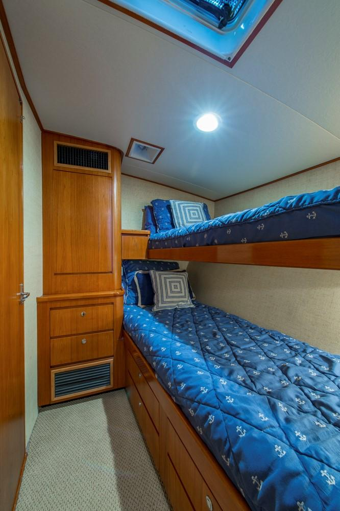 1996 60' Jim Smith Custom Sportfisherman Guest Stateroom