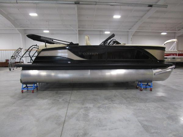 2021 Godfrey Pontoon boat for sale, model of the boat is Monaco 235 SB iMPACT  29 in. Center Tube & Image # 1 of 38
