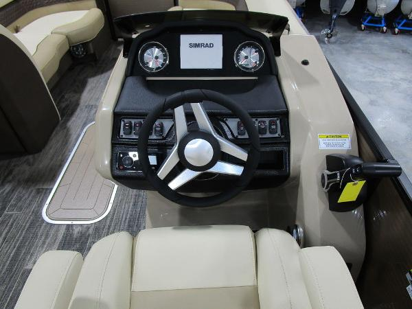 2021 Godfrey Pontoon boat for sale, model of the boat is Monaco 235 SB iMPACT  29 in. Center Tube & Image # 3 of 38