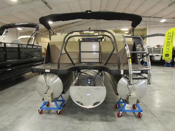 2021 Godfrey Pontoon boat for sale, model of the boat is Monaco 235 SB iMPACT  29 in. Center Tube & Image # 5 of 38