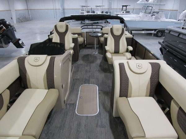 2021 Godfrey Pontoon boat for sale, model of the boat is Monaco 235 SB iMPACT  29 in. Center Tube & Image # 9 of 38