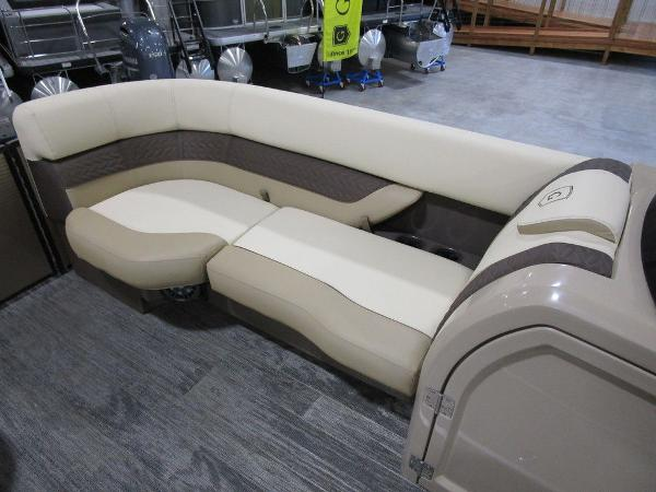 2021 Godfrey Pontoon boat for sale, model of the boat is Monaco 235 SB iMPACT  29 in. Center Tube & Image # 10 of 38