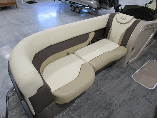 2021 Godfrey Pontoon boat for sale, model of the boat is Monaco 235 SB iMPACT  29 in. Center Tube & Image # 11 of 38