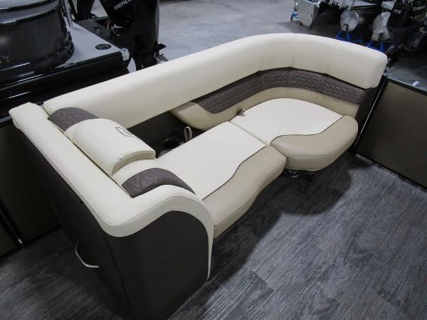 2021 Godfrey Pontoon boat for sale, model of the boat is Monaco 235 SB iMPACT  29 in. Center Tube & Image # 17 of 38