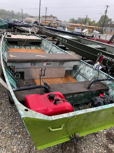 1974 Lowe boat for sale, model of the boat is 1448 JON & Image # 9 of 12