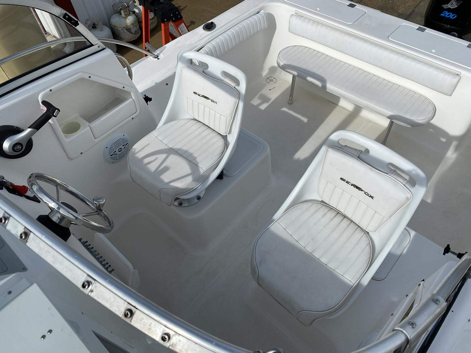 2006 Sea Fox boat for sale, model of the boat is Around 216 & Image # 7 of 13