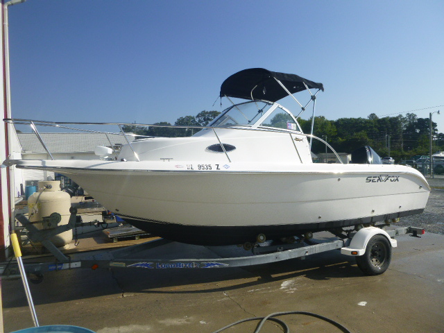 2006 Sea Fox boat for sale, model of the boat is Around 216 & Image # 9 of 13