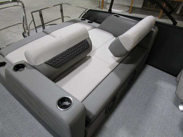 2021 Godfrey Pontoon boat for sale, model of the boat is Monaco 235 DFL iMPACT  29 in. Center Tube & Image # 5 of 40