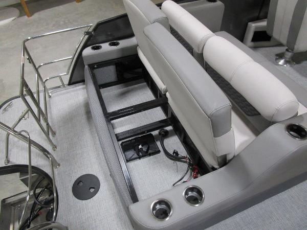 2021 Godfrey Pontoon boat for sale, model of the boat is Monaco 235 DFL iMPACT  29 in. Center Tube & Image # 7 of 40