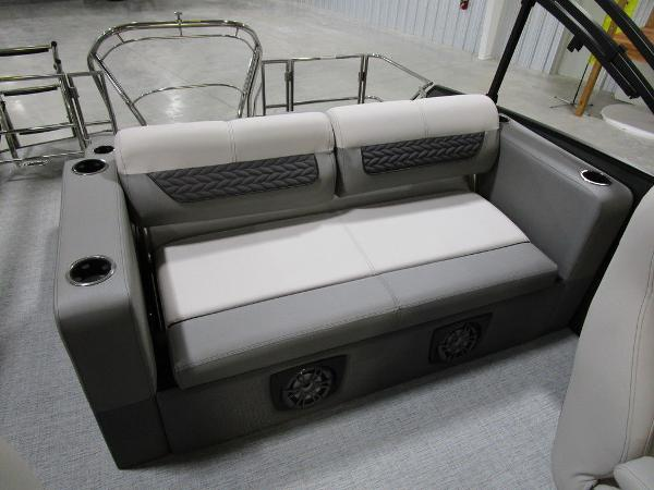 2021 Godfrey Pontoon boat for sale, model of the boat is Monaco 235 DFL iMPACT  29 in. Center Tube & Image # 10 of 40