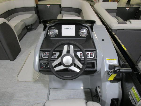 2021 Godfrey Pontoon boat for sale, model of the boat is Monaco 235 DFL iMPACT  29 in. Center Tube & Image # 20 of 40