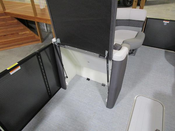 2021 Godfrey Pontoon boat for sale, model of the boat is Monaco 235 DFL iMPACT  29 in. Center Tube & Image # 24 of 40