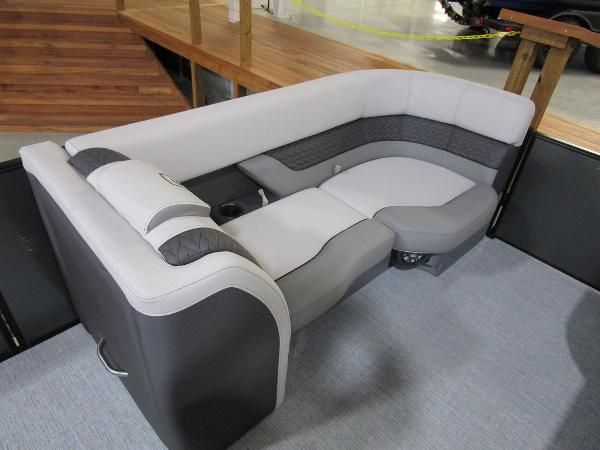 2021 Godfrey Pontoon boat for sale, model of the boat is Monaco 235 DFL iMPACT  29 in. Center Tube & Image # 37 of 40