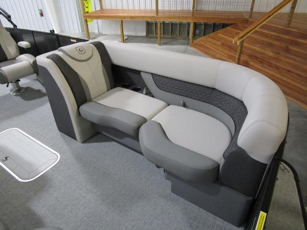 2021 Godfrey Pontoon boat for sale, model of the boat is Monaco 235 DFL iMPACT  29 in. Center Tube & Image # 38 of 40
