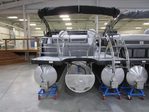 2021 Godfrey Pontoon boat for sale, model of the boat is Monaco 235 DFL iMPACT  29 in. Center Tube & Image # 4 of 40