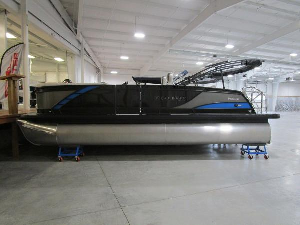 2021 Godfrey Pontoon boat for sale, model of the boat is Monaco 235 DFL iMPACT  29 in. Center Tube & Image # 1 of 40