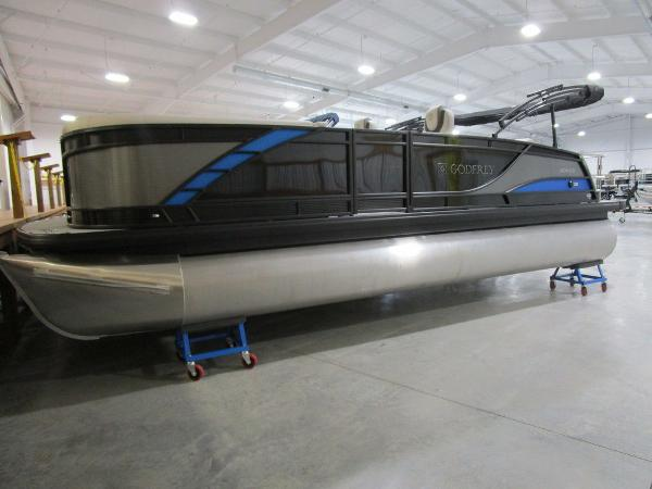 2021 Godfrey Pontoon boat for sale, model of the boat is Monaco 235 DFL iMPACT  29 in. Center Tube & Image # 2 of 40