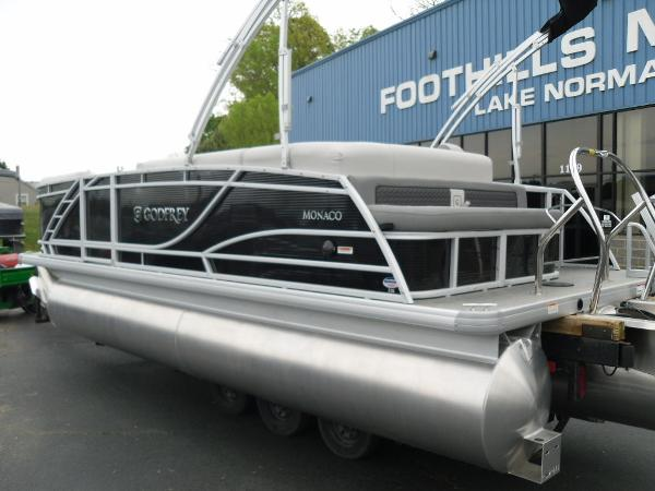 2021 Godfrey Pontoon boat for sale, model of the boat is Monaco 215 C GTP 27 in. & Image # 5 of 37