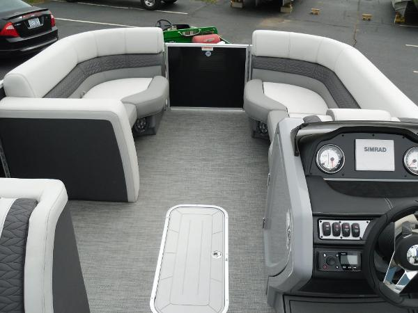 2021 Godfrey Pontoon boat for sale, model of the boat is Monaco 215 C GTP 27 in. & Image # 12 of 37