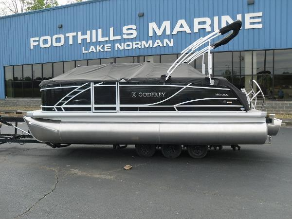 2021 Godfrey Pontoon boat for sale, model of the boat is Monaco 215 C GTP 27 in. & Image # 28 of 37