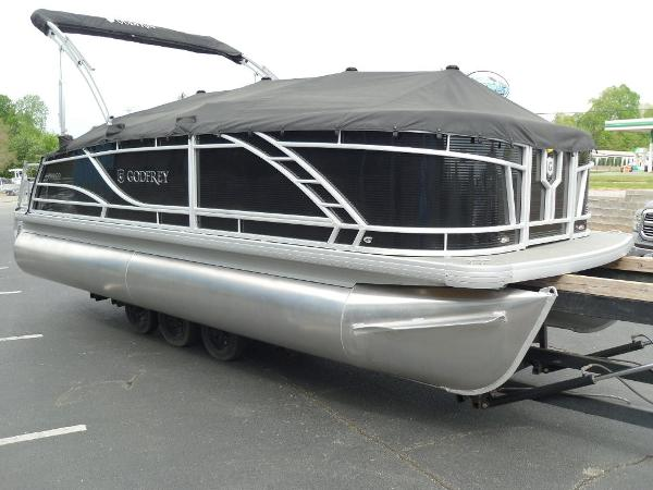 2021 Godfrey Pontoon boat for sale, model of the boat is Monaco 215 C GTP 27 in. & Image # 31 of 37