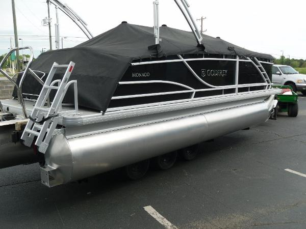 2021 Godfrey Pontoon boat for sale, model of the boat is Monaco 215 C GTP 27 in. & Image # 35 of 37