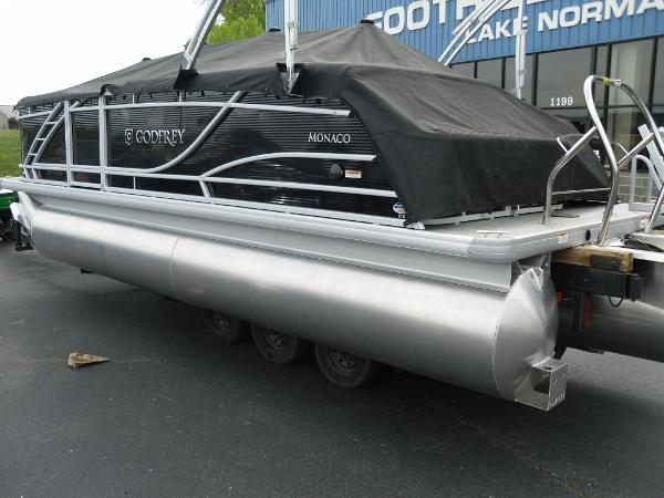 2021 Godfrey Pontoon boat for sale, model of the boat is Monaco 215 C GTP 27 in. & Image # 37 of 37