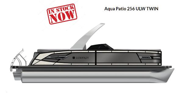 2022 Godfrey Aqua Patio 256 ULW Twin