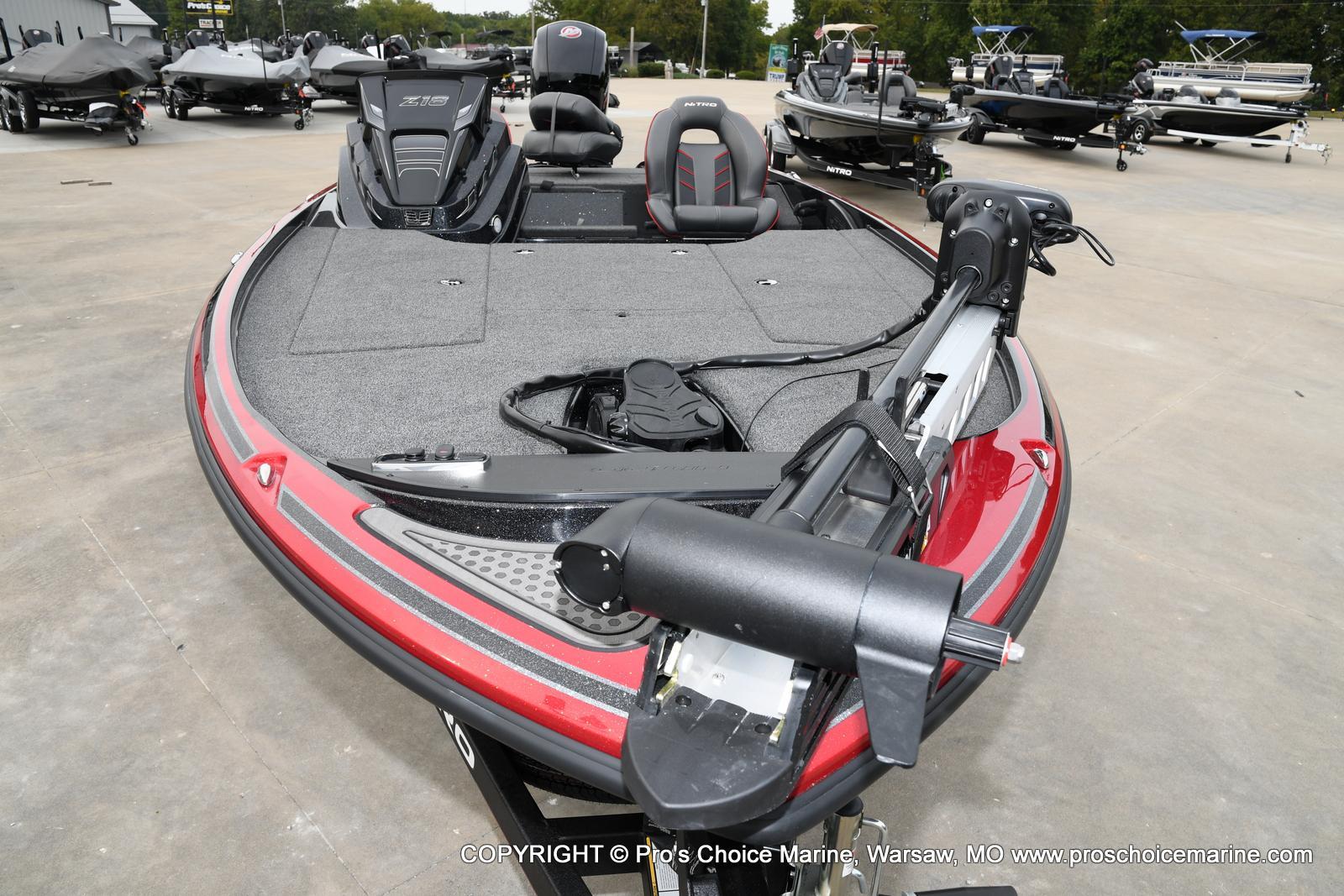 2021 Nitro boat for sale, model of the boat is Z18 & Image # 17 of 50