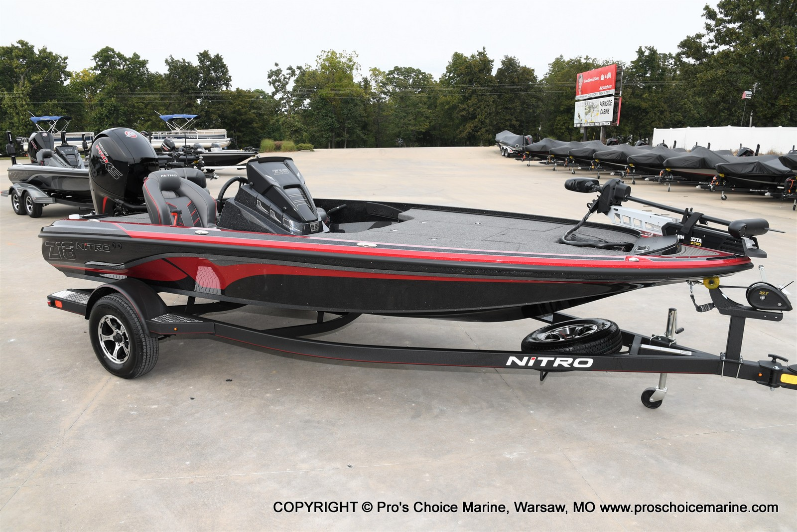 2021 Nitro boat for sale, model of the boat is Z18 & Image # 1 of 50