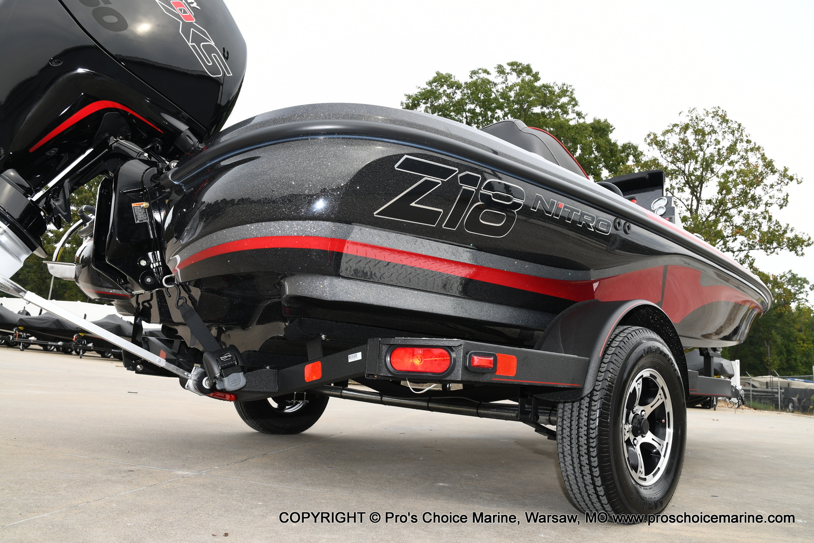 2021 Nitro boat for sale, model of the boat is Z18 & Image # 2 of 50