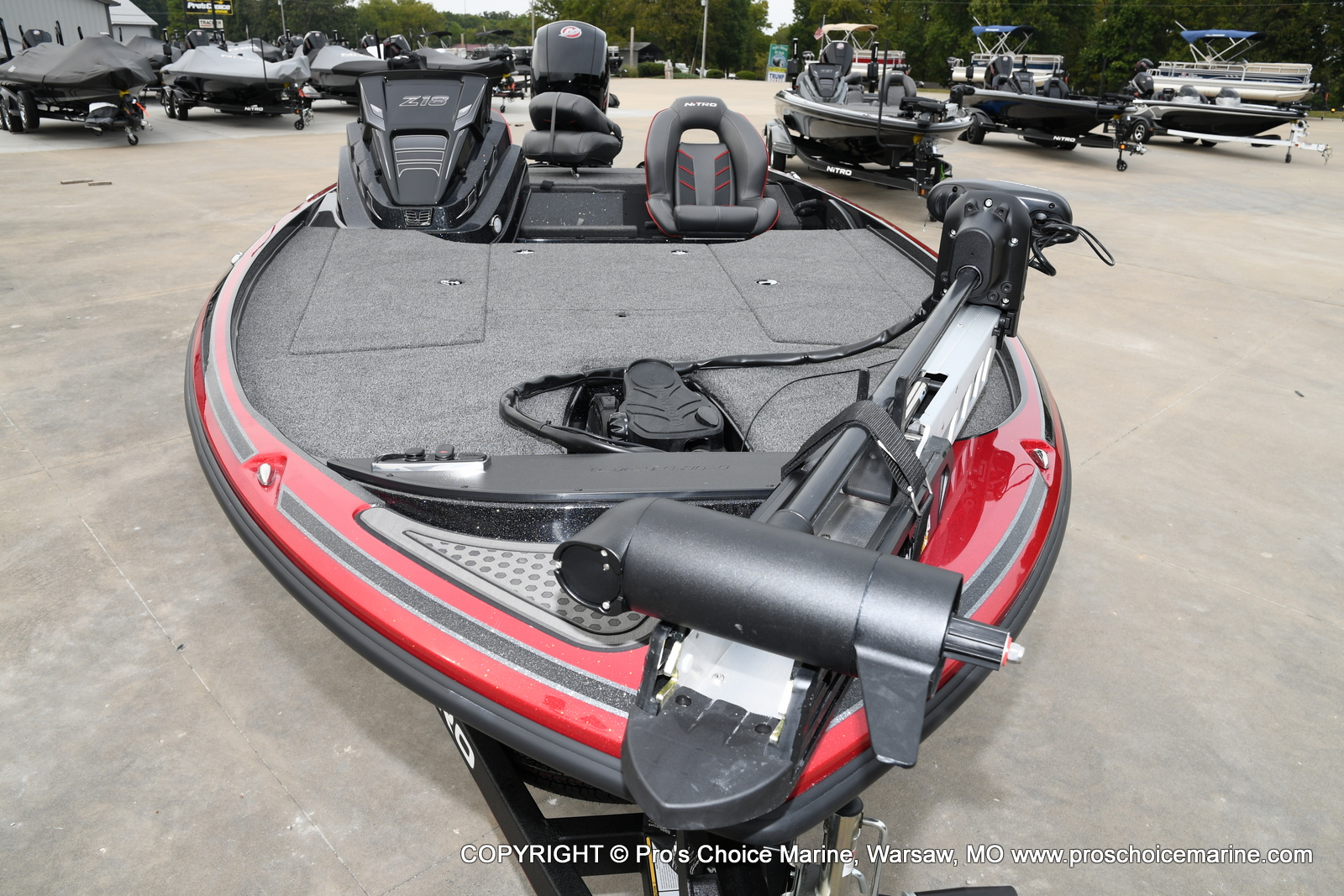 2021 Nitro boat for sale, model of the boat is Z18 & Image # 17 of 50