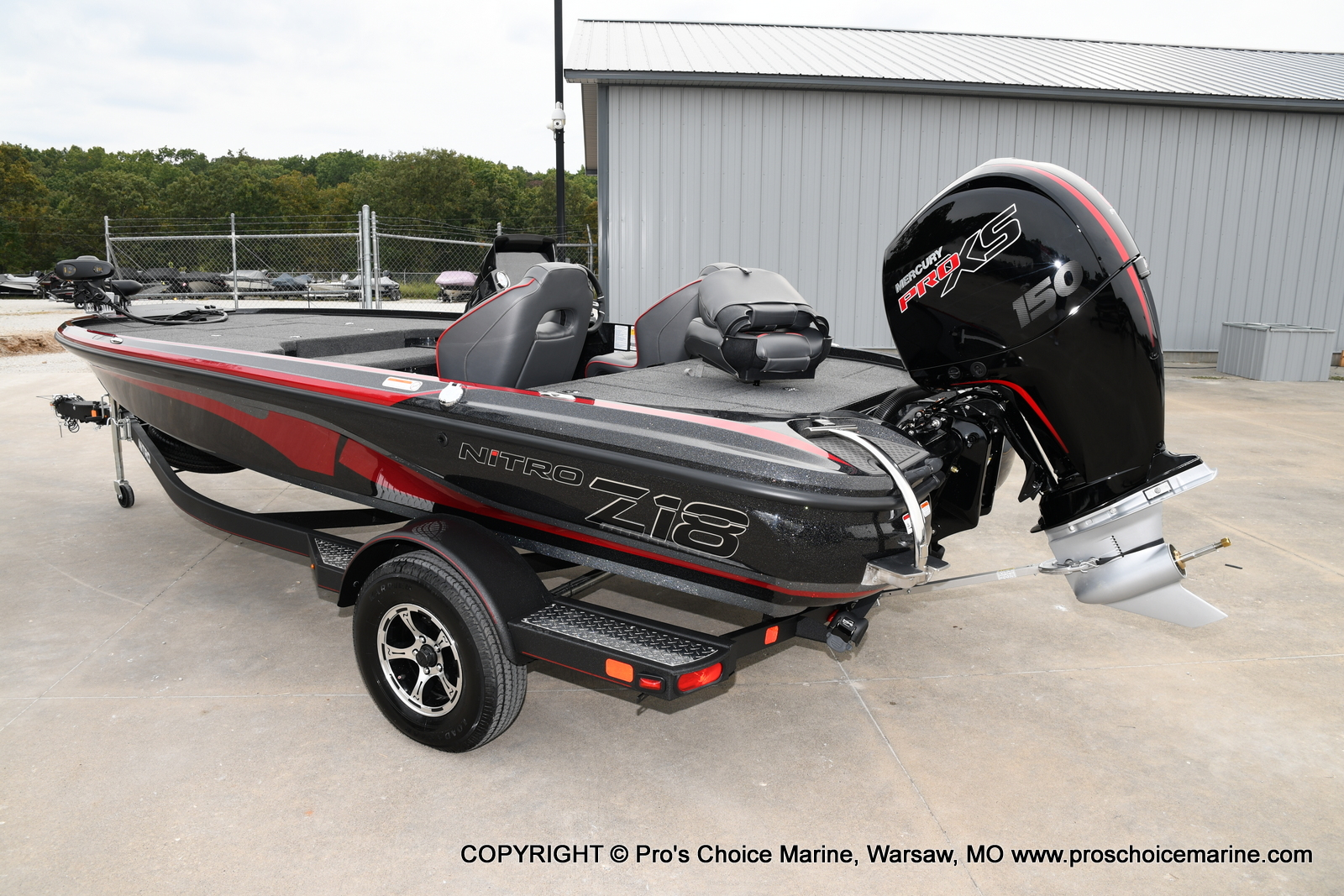 2021 Nitro boat for sale, model of the boat is Z18 & Image # 22 of 50