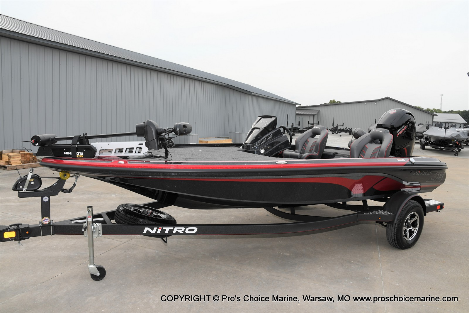 2021 Nitro boat for sale, model of the boat is Z18 & Image # 23 of 50