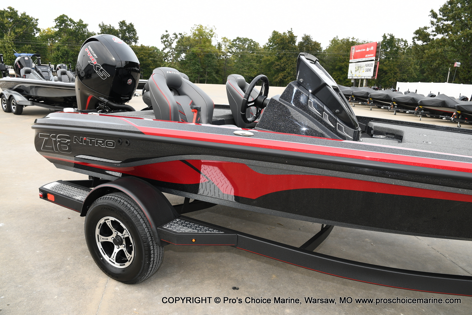 2021 Nitro boat for sale, model of the boat is Z18 & Image # 33 of 50