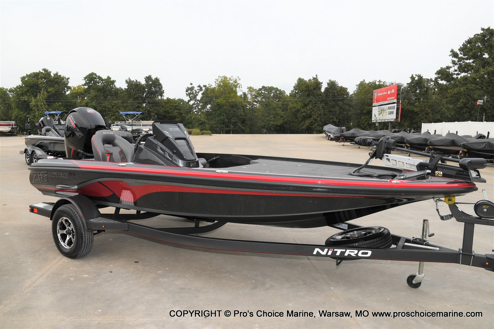 2021 Nitro boat for sale, model of the boat is Z18 & Image # 50 of 50