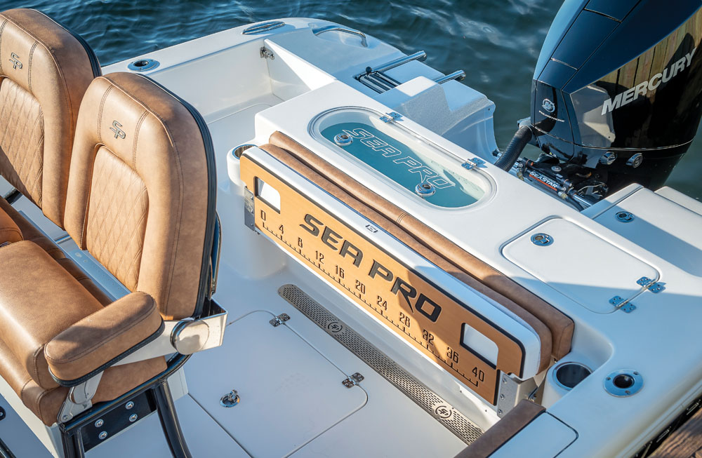 2021 Sea Pro boat for sale, model of the boat is 219 Deep-V Center Console & Image # 12 of 15