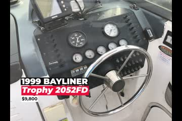 Bayliner Trophy 2052 video