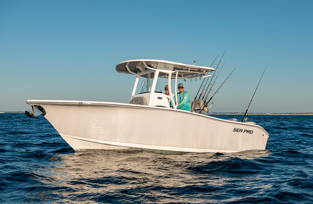 2021 Sea Pro boat for sale, model of the boat is 239 DLX Deep-V Center Console & Image # 8 of 18