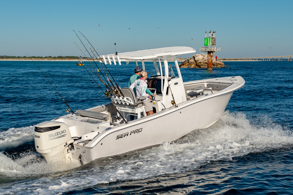 2021 Sea Pro boat for sale, model of the boat is 239 DLX Deep-V Center Console & Image # 10 of 18