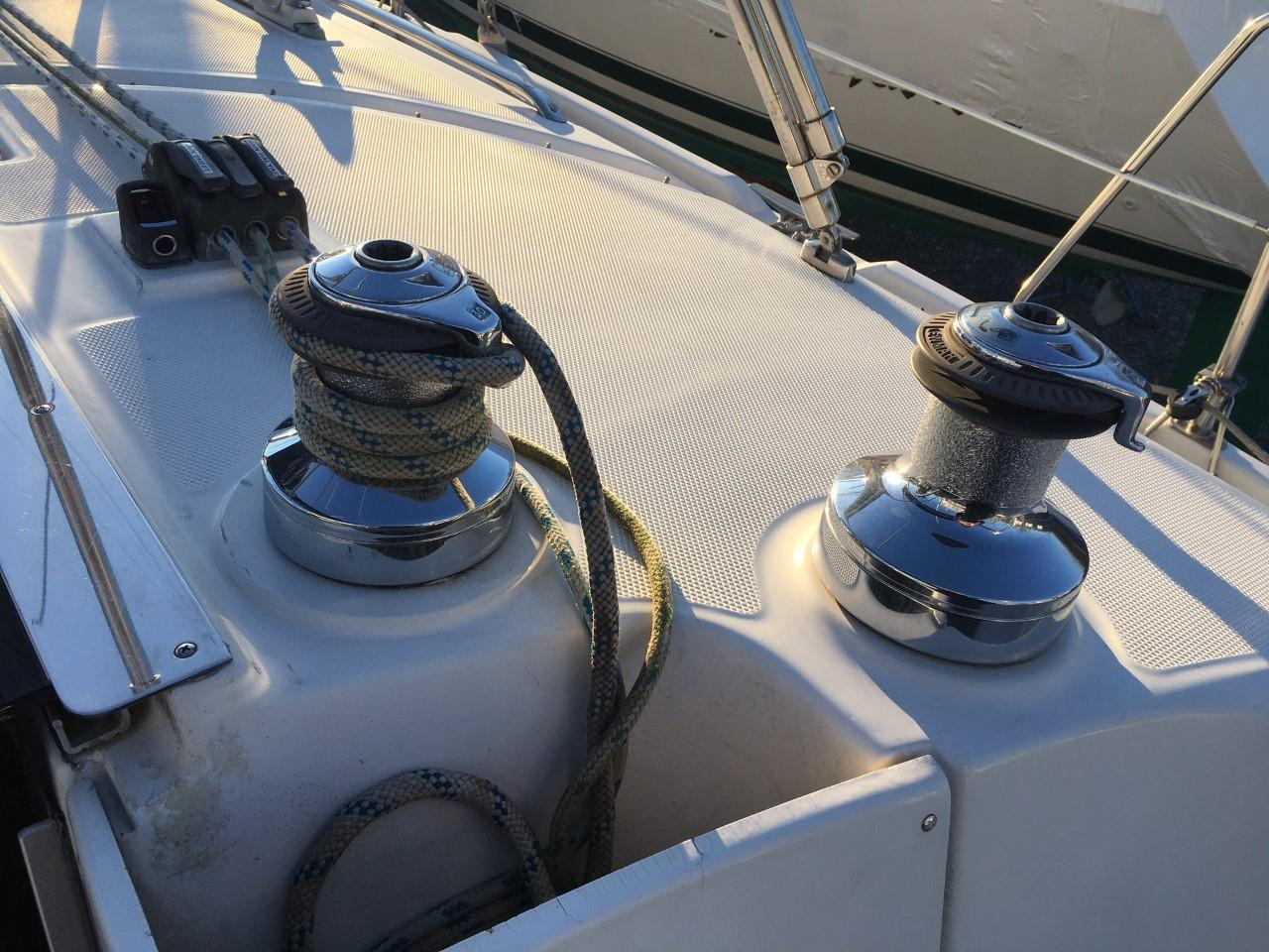 Starboard Winches
