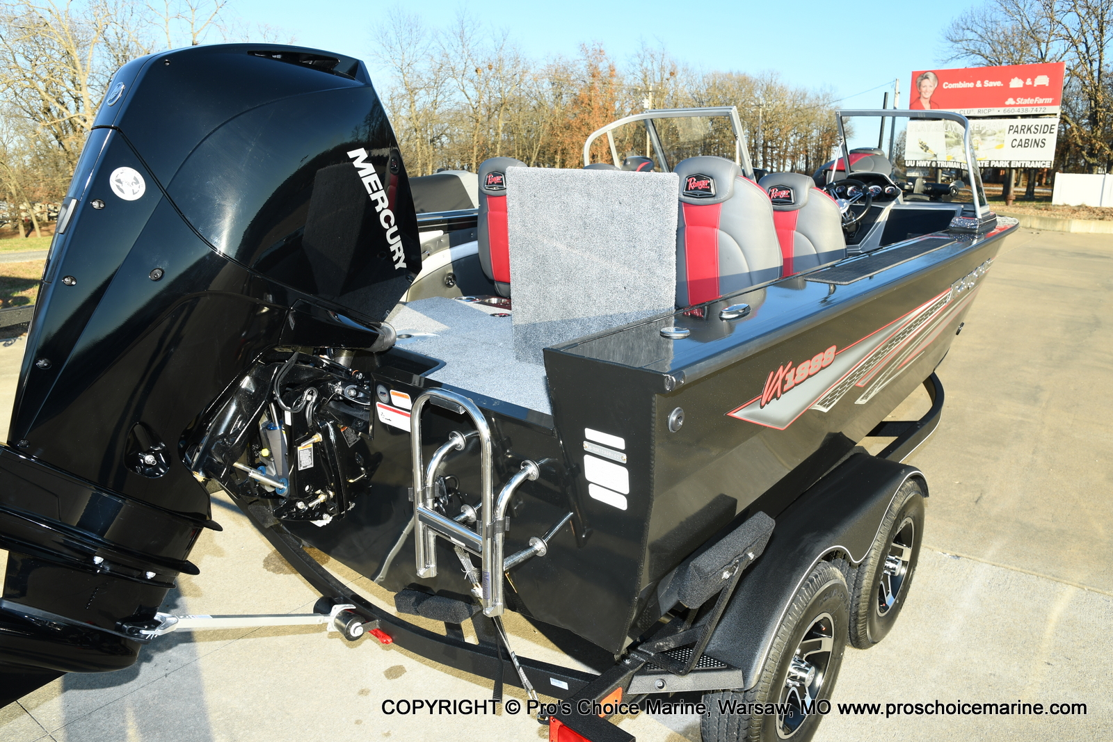 2021 Ranger Boats boat for sale, model of the boat is VX1888 WT w/225HP Mercury 4 Stroke & Image # 2 of 50