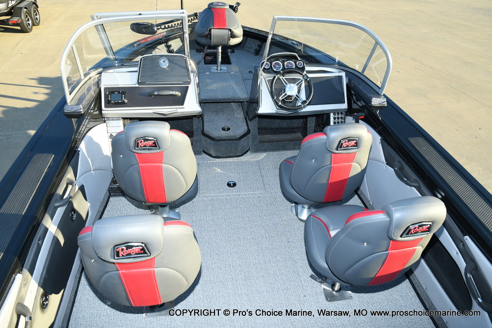 2021 Ranger Boats boat for sale, model of the boat is VX1888 WT w/225HP Mercury 4 Stroke & Image # 5 of 50