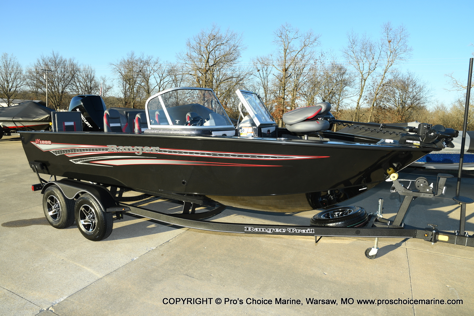 2021 Ranger Boats boat for sale, model of the boat is VX1888 WT w/225HP Mercury 4 Stroke & Image # 46 of 50