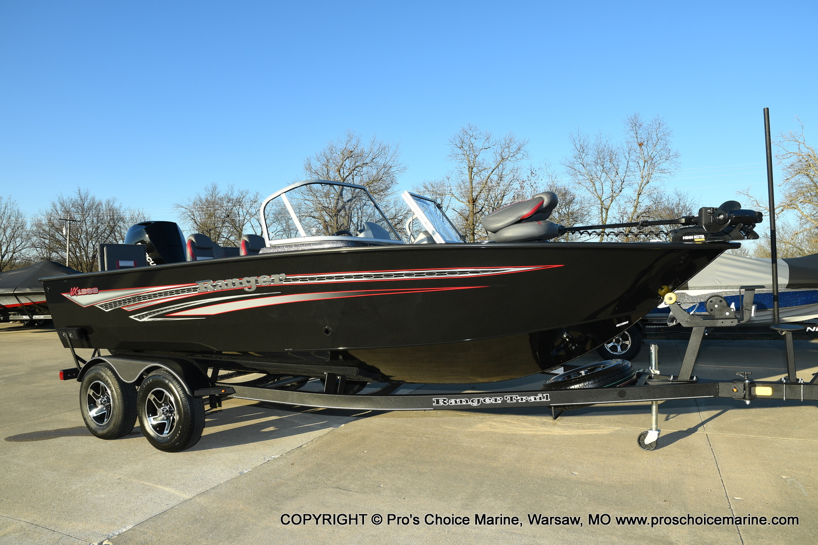 2021 Ranger Boats boat for sale, model of the boat is VX1888 WT w/225HP Mercury 4 Stroke & Image # 47 of 50