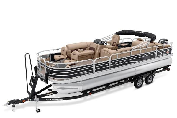 2021 Sun Tracker boat for sale, model of the boat is Fishin' Barge 24 DLX & Image # 1 of 16